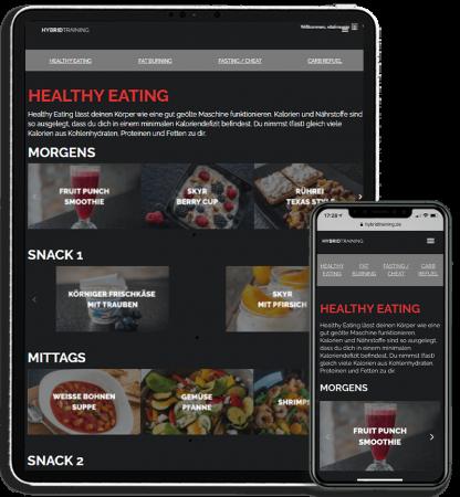 CLASSIC-Ernährung-Screen